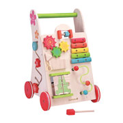 Eco Friendly Wooden Activity Walker by EverEarth