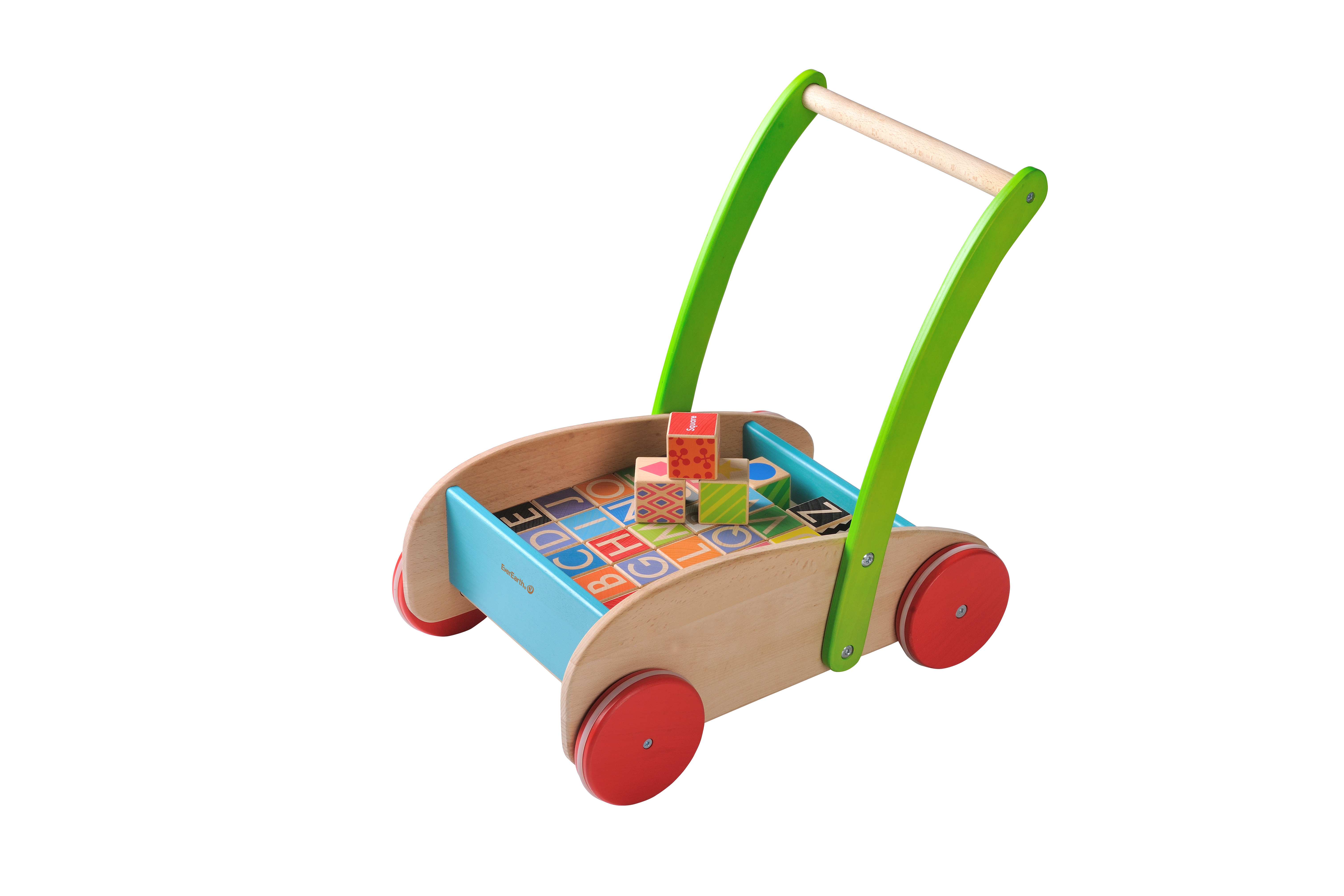 Eco Friendly Wooden Block Walker by EverEarth