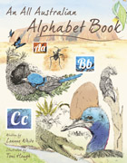 An All Australian Alphabet book by Leanne White