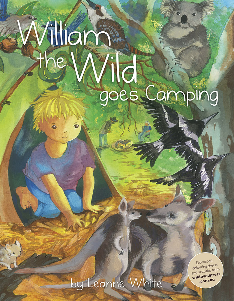 William the wild goes coamping by Leanne White