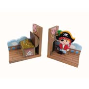 Pirate Bookends by Teamson - Fantasy Fields