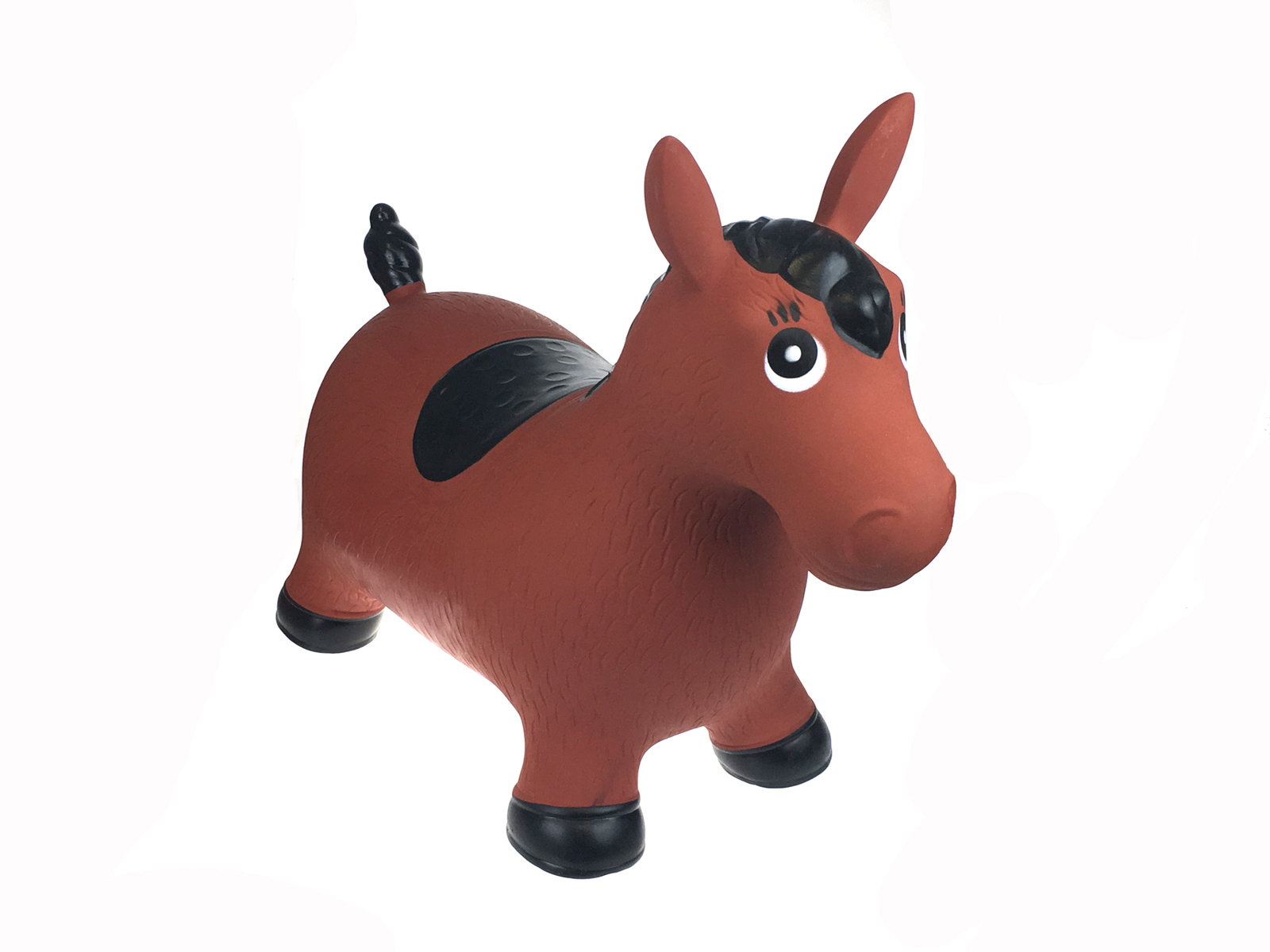 Bouncy Rider Brown Horse by Kaper Kidz