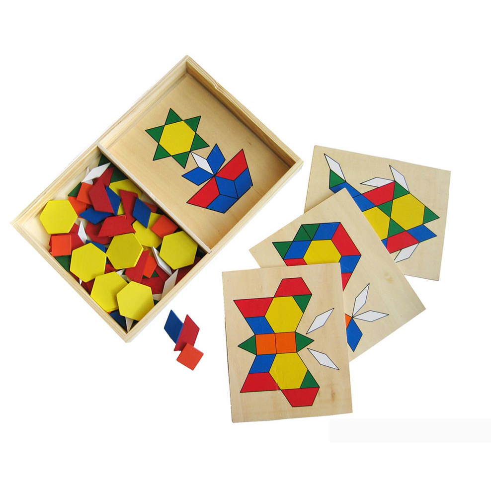 Educational Wooden - Build-A-Picture - Design set by Fun factory