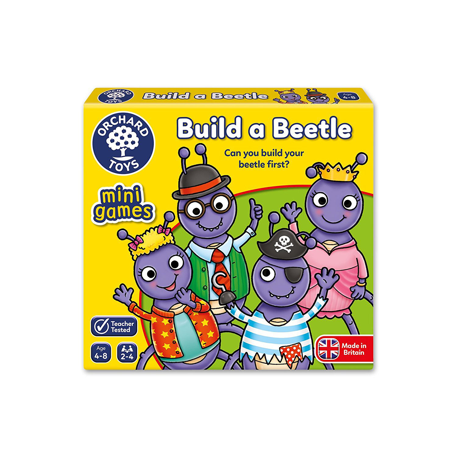 Build a Beetle Mini Game by Orchard Toys