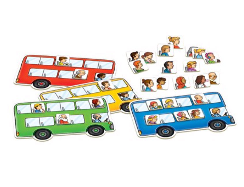 Bus Stop Board Game by Orchard Toys