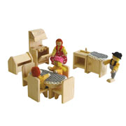 Wooden kitchen for Doll house by Timbertop