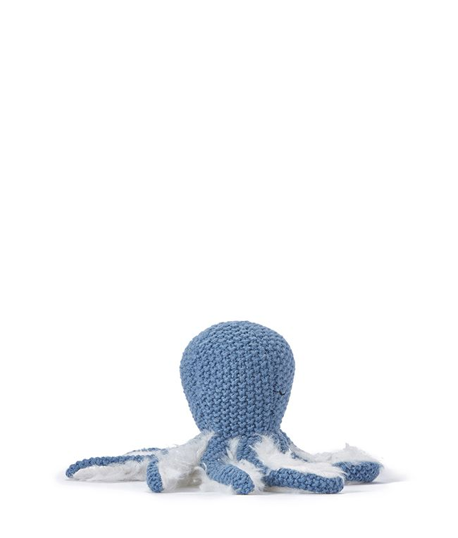 Ollie Octopus Rattle - Blue by Nana Huchy