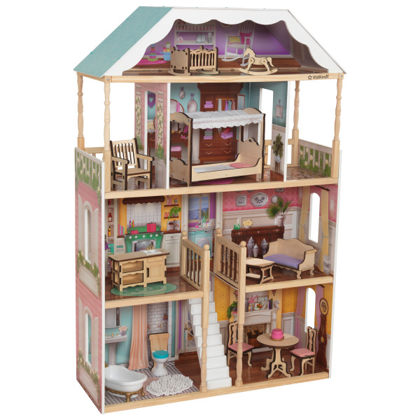 Charlotte Dollhouse with EZ Kraft Assembly by Kidkraft