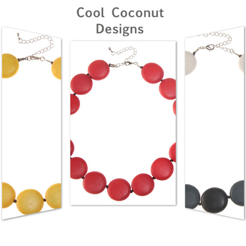 We have introduced this cool retro design jewellery by Cool Coconut