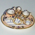 MINIATURE TEA SET--(MTD40S2-4)