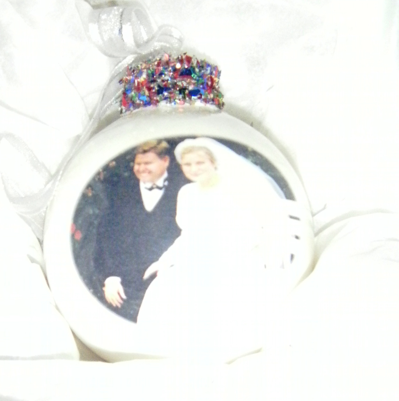 Personalised Wedding Bauble