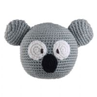Dandelion handcrafted roly poly koala rattle