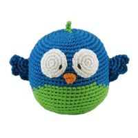 Roly Poly Rattles by Dandelion -Design - Frog, Fish,Owl