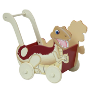 Dinosaur Push Cart - Fantasy Fields by Teamson
