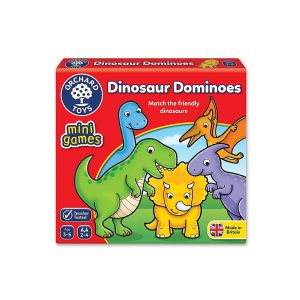 Dinosaur Dominoes Mini Game by Orchard Toys 3+