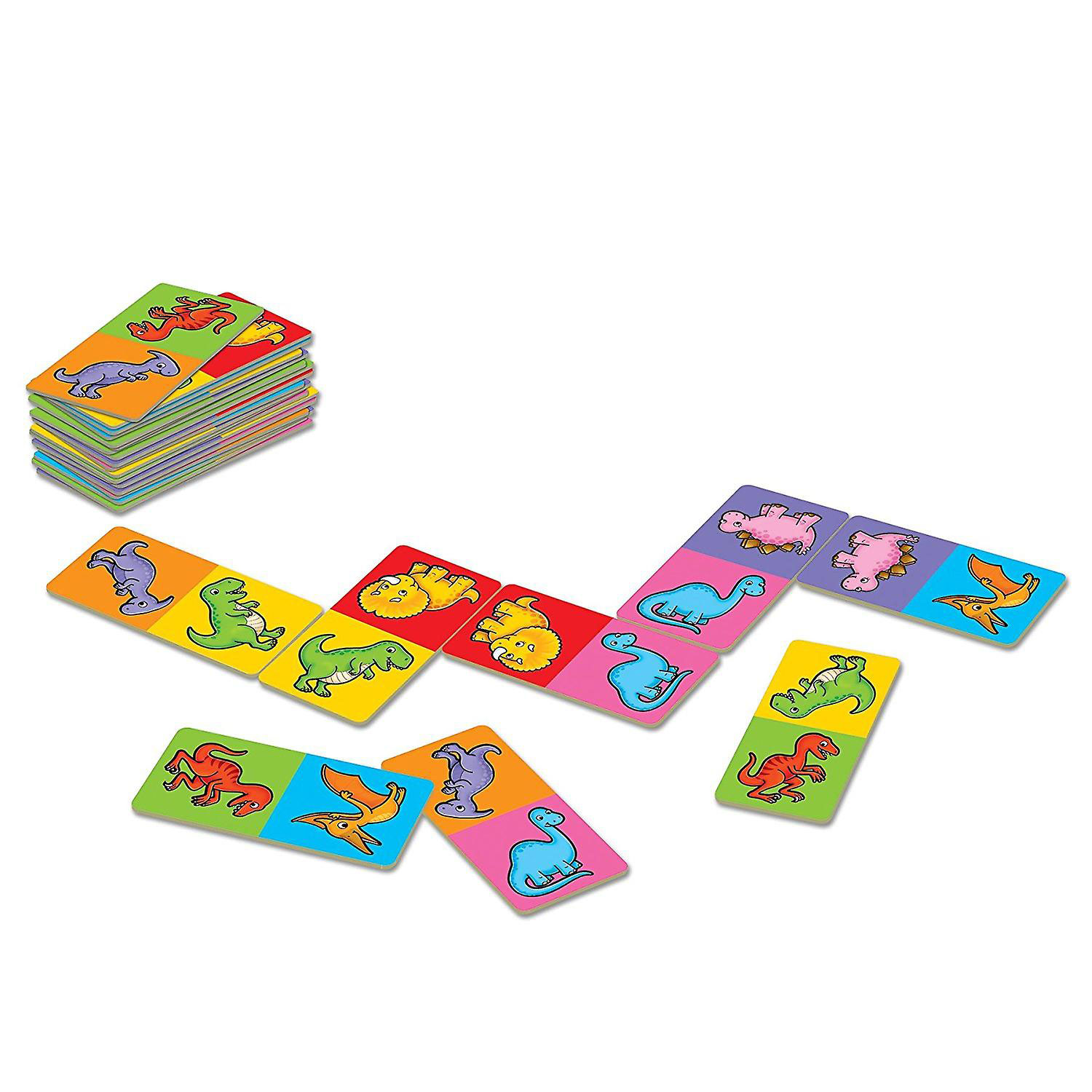 Dinosaur Dominoes Mini Game by Orchard Toys