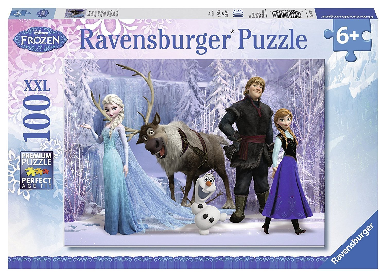 Ravensburger - Frozen 2 Realm of the Snow Queen 100 pc 6 +