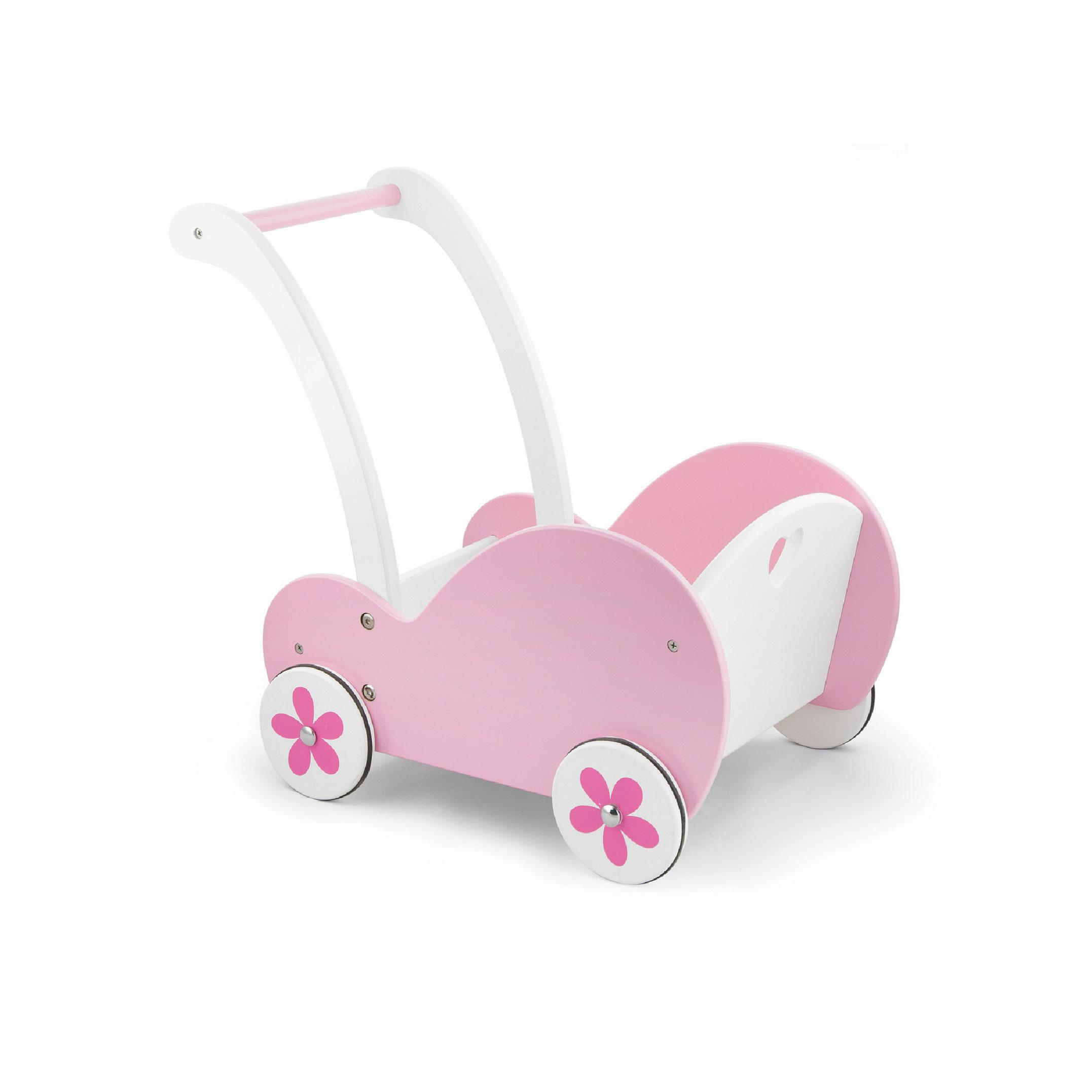 Wooden Doll Pink Buggy by Viga Toys