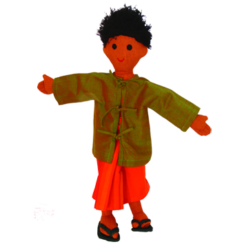 Barefoot Traditional Doll
