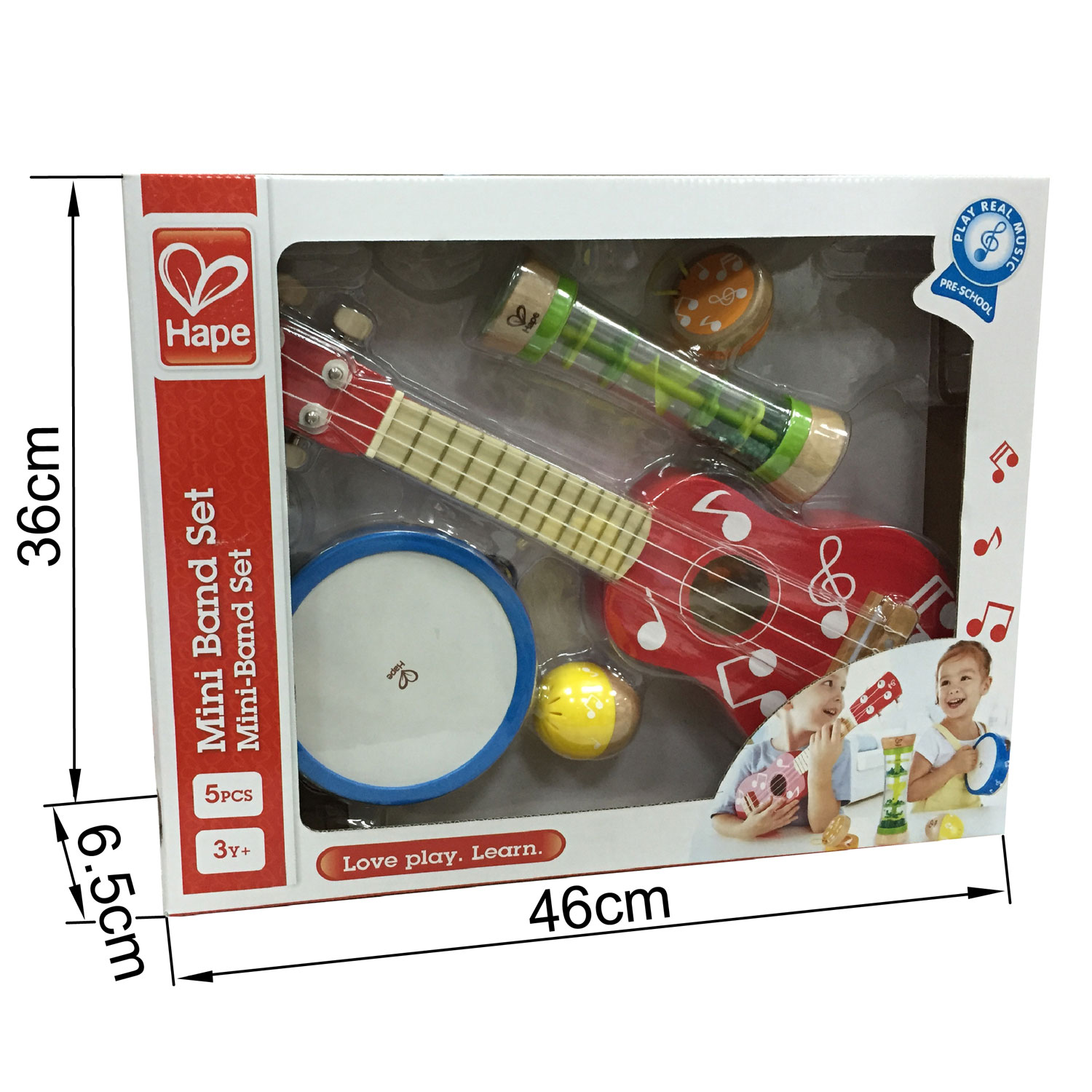 Hape Mini Band Set x 5 ~ 3+