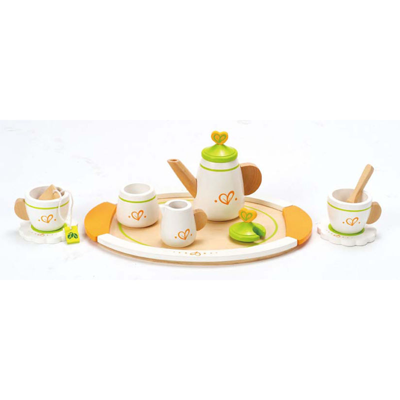 Hape Wooden Tea Set for Two 3 +