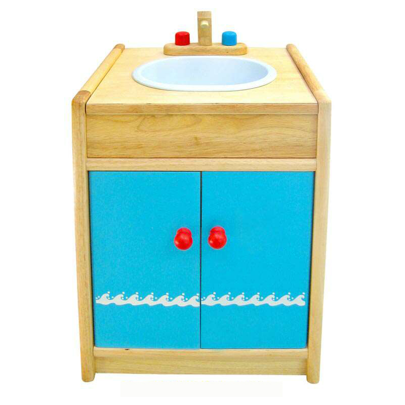 Wooden Sink,Cupboard by Viga Toys