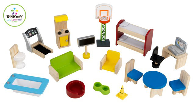 Everyday Heroes Wooden Play set by Kidkraft