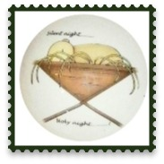 Personalised Christmas Bauble 'silent night' F5
