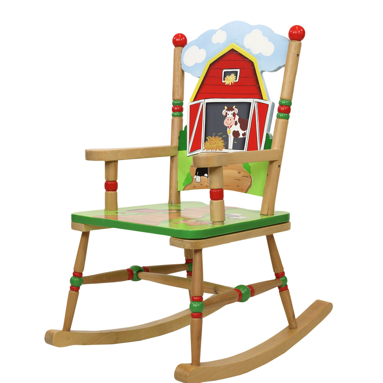 Farmyard rocking chair
