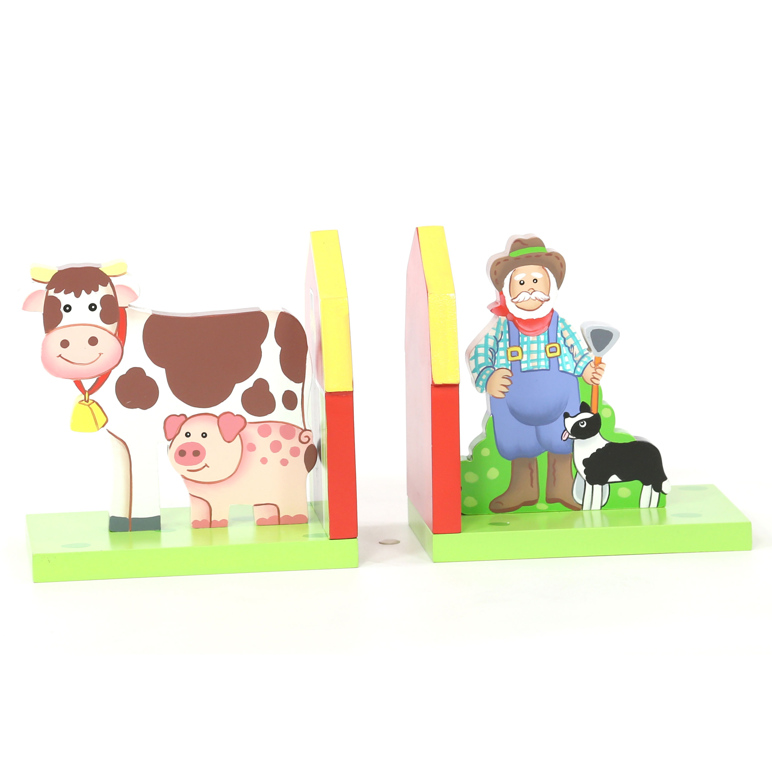 Farmyard Bookends by Teamson - Fantssy Fields