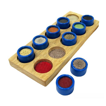 Educational Touch & Match Game -- Sensory by Viga Toys