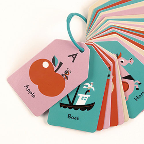 Mudpuppy Ring Flash Cards -- My ABC