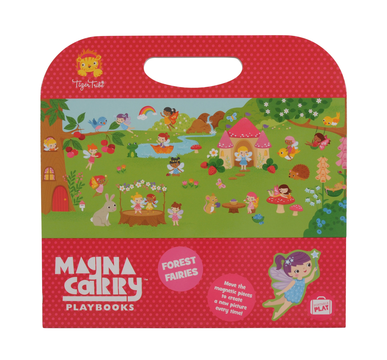 Magna Carry - Forest Fairies ~ Magnetic Sets by Tiger Tribe 3+