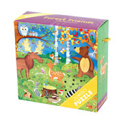 Mudpuppy 25 Piece Jumbo Puzzle -- Forest Friends 2+