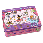 Mudpuppy 100 Piece Puzzle -- Fun and dance