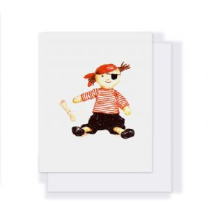 Gift Card-Boris The Pirate by NANA HUCHY