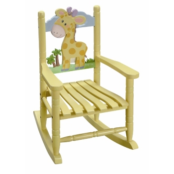 Giraffe rocking Chair by Fantasy Fields ~ Teamson