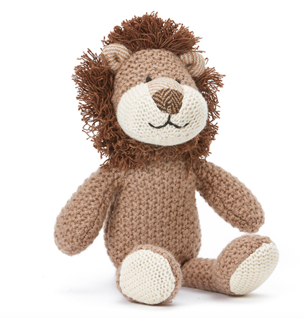 Hunter The Lion Baby Rattle by NANA HUCHY