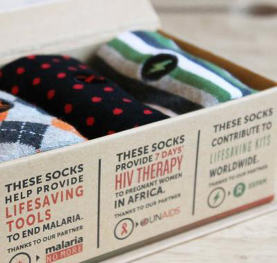 Conscious Step ~ HUMANITARIAN RELIEF ~ Socks for fighting Malaria ,treat HIV, provide Relief Kits