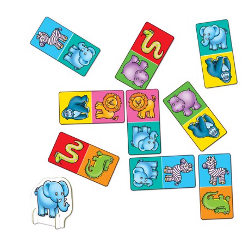 Jungle Dominoes Mini Game by Orchard Toys