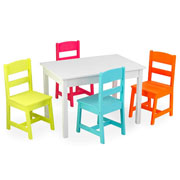 Kidkraft Highlighter Table & 4 Chair Set