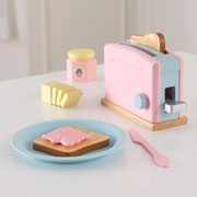 Pastel Toaster set by Kidkraft