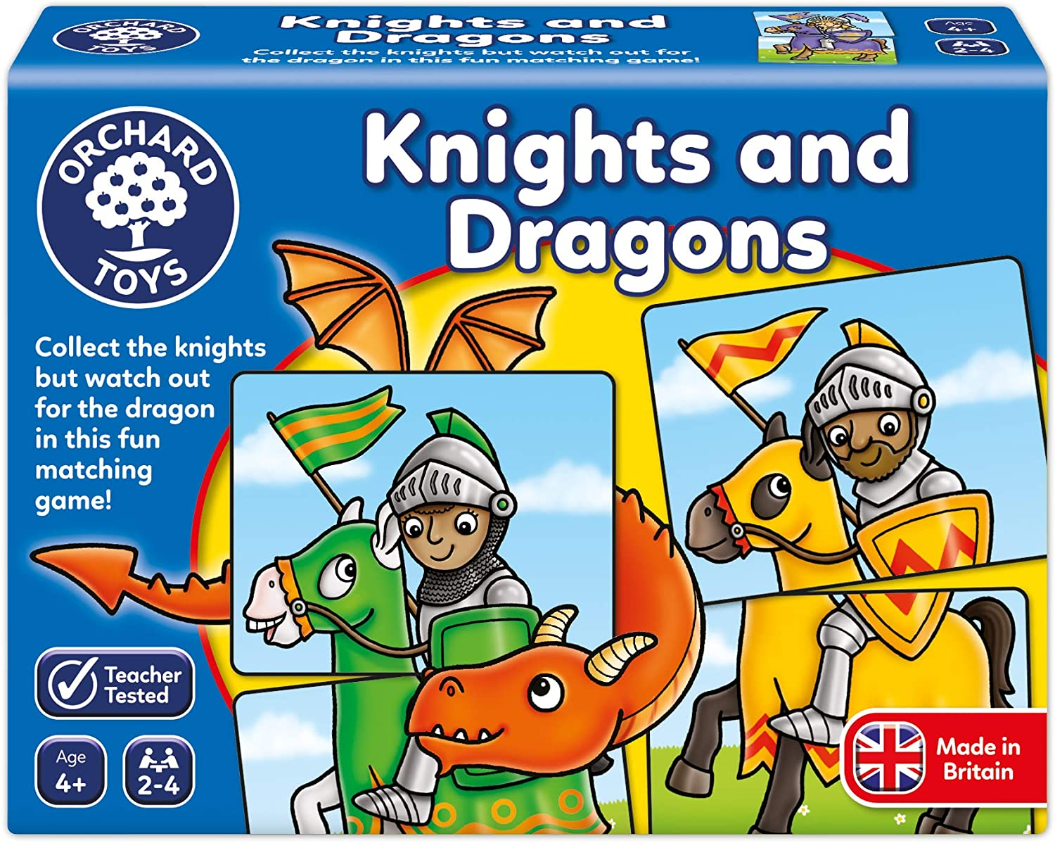 Knights and Dragons by Orchard Toys 4+