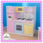 Wooden Larege Pastel Kitchen by Kidkraft