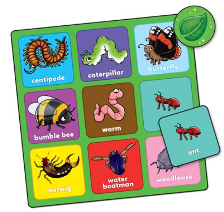 Little Bug Bingo Mini Game by Orchard Toys