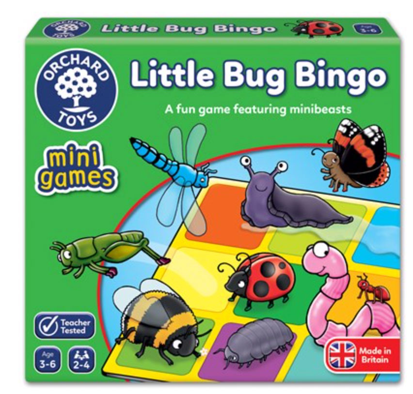 Little Bug Bingo Mini Game by Orchard Toys 3+