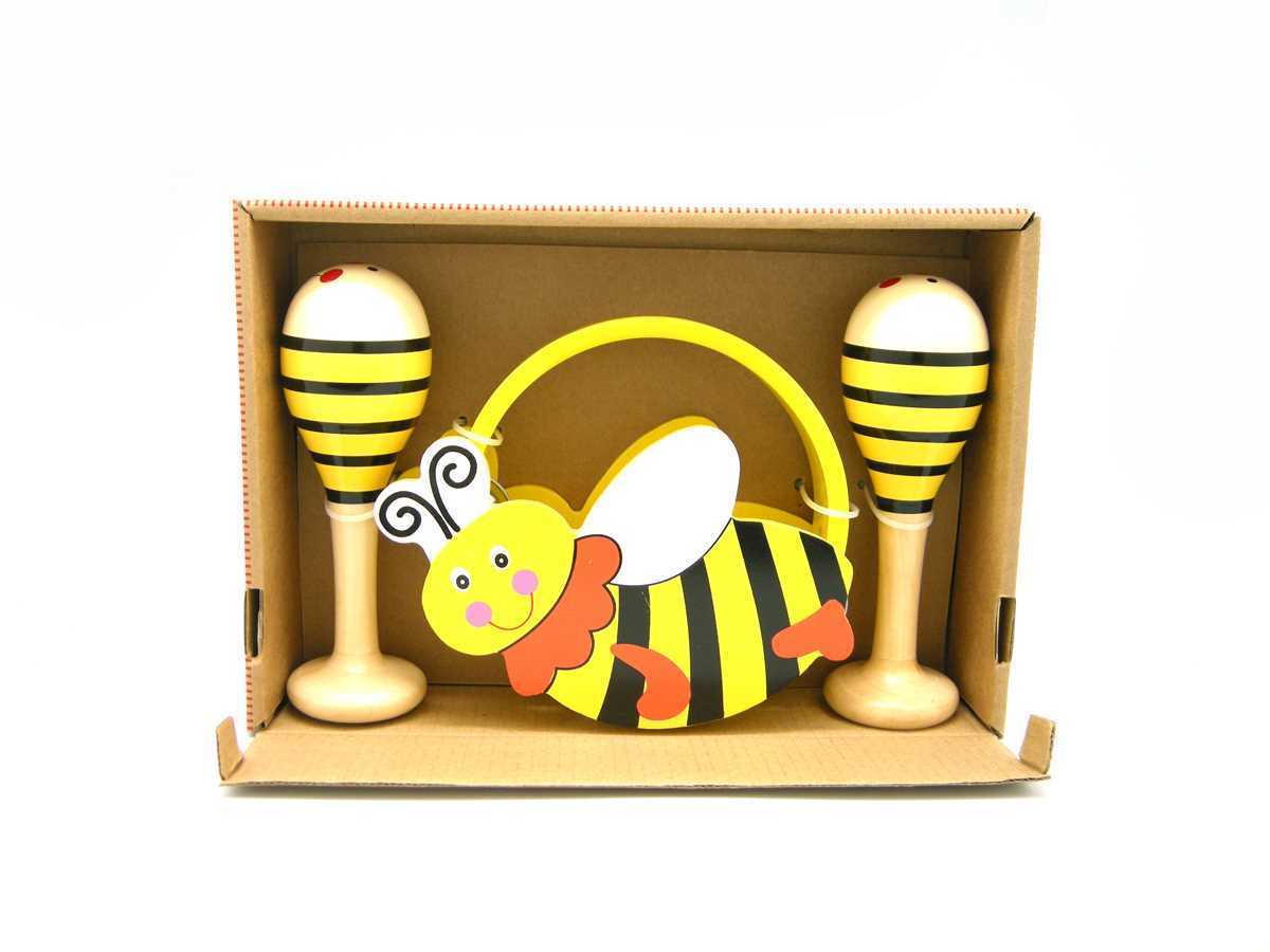 Musical set x 3 Bee Design by Kaper kids