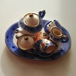 MINIATURE TEA SET--(MTD-40S2-1)