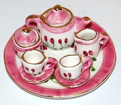 MINIATURE TEA SET--(MTD70S2-33)