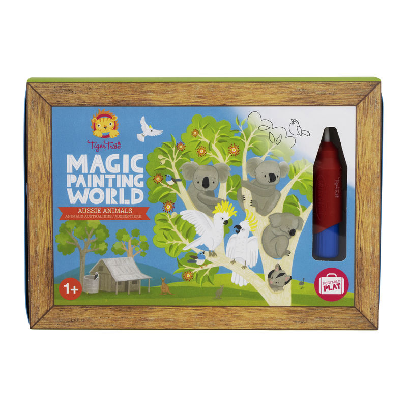 Magic Painting World - Aussie Animals by Tiger Tribe 1+